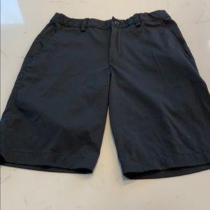 Boys Nike Golf shorts black large